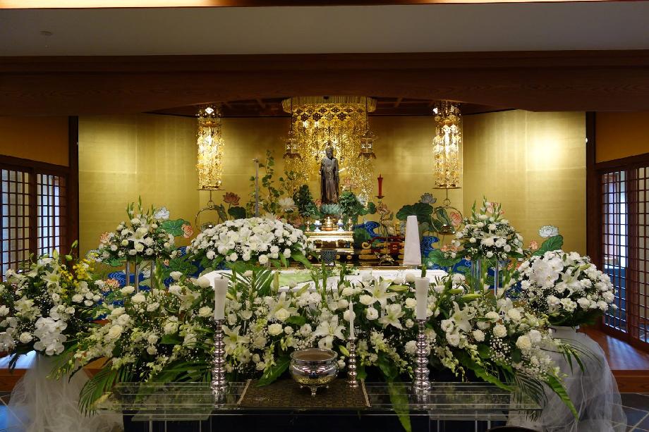 眞敬寺の葬儀について